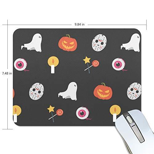 Basics Gaming Mauspad Halloween, Kürbis und Kobold, Mauspad für Computertastatur, 24 x 20 x 0,5 cm