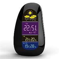 Pebble Weather Station Clock Tecnologia di trasmissione wirelessMarca: Modello HAPTIME: YGH-392FUNZIONISelezione gradi Celsius o Fahrenheit.Sensore esterno tramite trasmissione wireless.R...