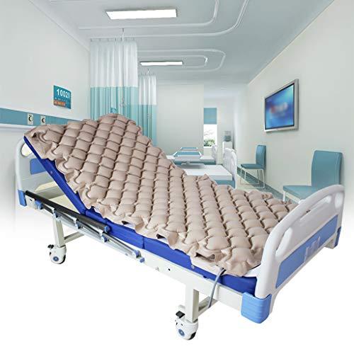Preisvergleich Produktbild HUIJU Alternierende Druckmatratze - Enthält EIN Elektrisches Pumpensystem - Leiser,  Aufblasbarer Luftaufleger Für Druckgeschwüre Und Dekubitusbehandlung - Passt In EIN Standard-Krankenhausbett