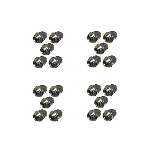 Kit des Écrous Chromes - 20 pièces
