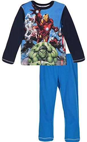 Marvel -  pigiama due pezzi - ragazzo marina militare 10 anni