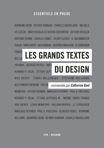 Les grands textes du design par Collectif
