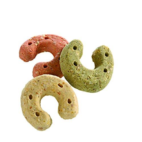 Monties Pferdeleckerlis, Hufeisen-Mix, Gebacken, Größe ca. 3,5 cm Durchmesser, Genießer-Kekse, 10 kg -