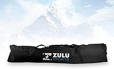 Zulu deportes bolsa doble para esquís (185cm acolchado
