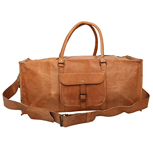 deserto-citta-100-vera-pelle-vintage-marrone-a-mano-borsa-da-viaggio-misura-media-valigia-cargo-bors