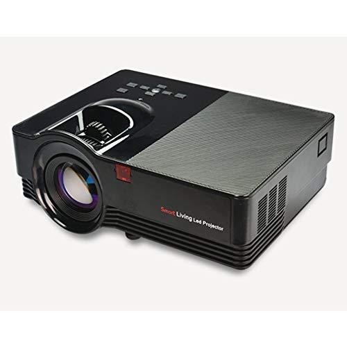 FDBF Mini proyector portátil de casa LED Compatible con 1080p USB TF VGA AV  Multimedia 3194f2ad1f8