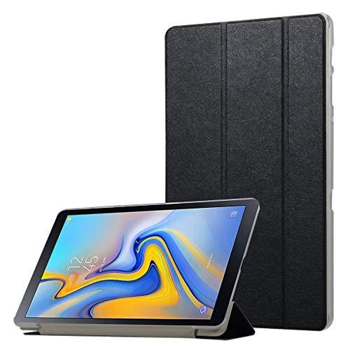 QHJ Hülle für Samsung Galaxy Tab A 10.1 Zoll 2019,Ultra Slim Lightweight Stand Case Schutzhülle für Samsung Galaxy Tab A 10.1 T510 T515 (Schwarz) - Lila Case Galaxy Samsung 2 Tab