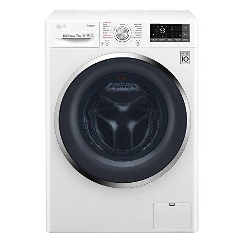 LG Electronics F 14WM 7TS2 Waschmaschine Frontlader/A+++ / 1400UpM / TurboWash/Spa Steam/weiß