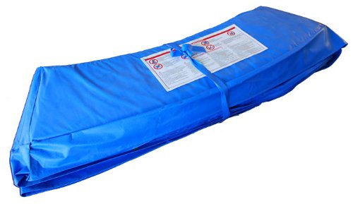 Sim-Buy Randabdeckung für Trampolin 16ft, blau, 5,0 m, 4250437800223