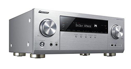Pioneer VSX-932-S 7.2 Netzwerk AV-Receiver mit Dolby Atmos, Multiroom und integriertem WiFi & Bluetooth unkomplizierten Musik-Streaming silber -