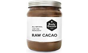 BODY GENIUS Raw Cacao. Cacao Puro en Polvo. Sin Azúcar. Made in Spain. 500 gr