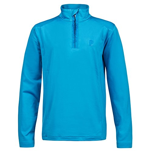 "Protest Boys Fleecepullover ""Willowy Jr 1/4 Zip Top"" bleu (50) 140"