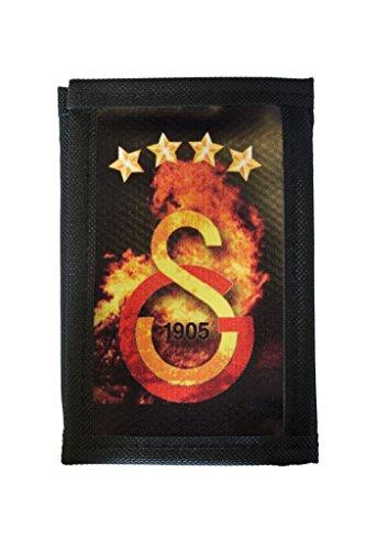 Geldbörse Galatasaray GS für Herren - unisex - Stoff, Portemonnaie, Börse, Brieftasche, 8,5 cm x 12,5 cm x 2 cm