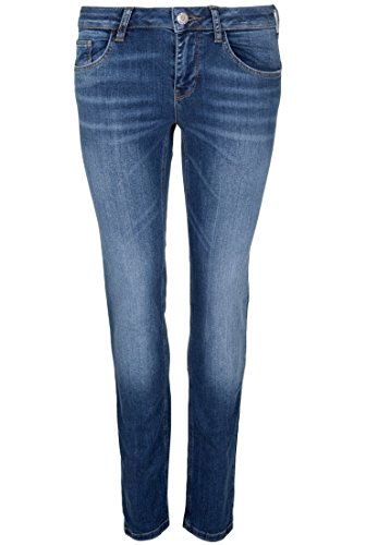 GIN TONIC -  Jeans  - Basic - Donna mid blue wash