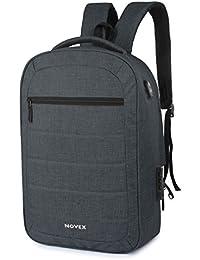 "Novex Anti Theft 20 litres Dark Grey15.6"" Laptop Backpack"