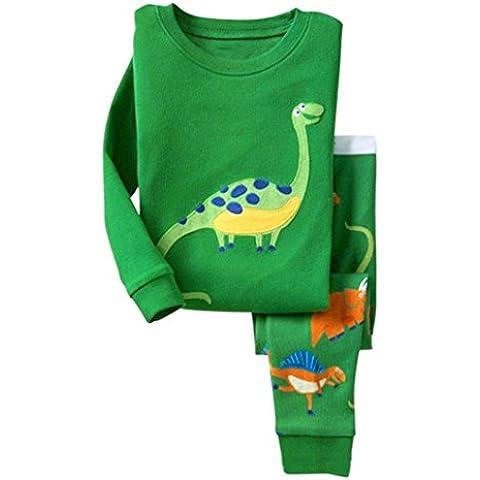 Ropa De La Muchacha Niños,RETUROM nuevo bebé ropa de la Navidad de la muchacha del bebé dinosaurio PJS ropa pijamas determinados del cabrito ropa de dormir ropa de dormir Homewear