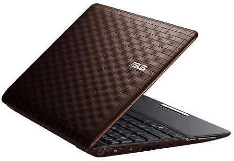 Asus 1008P Karim Rashid Collection 25,7 cm (10,1 Zoll) Netbook (Intel Atom N450 1,6GHz, 1GB RAM, 250GB HDD, Win 7 Starter) braun