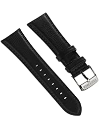 Festina Reloj de pulsera elegante material de la correa piel Negro para Festina F16756, F16755Relojes