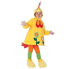 Creaciones Llopis - Disfraz de galliloco para niños de 7/9 años, talla M