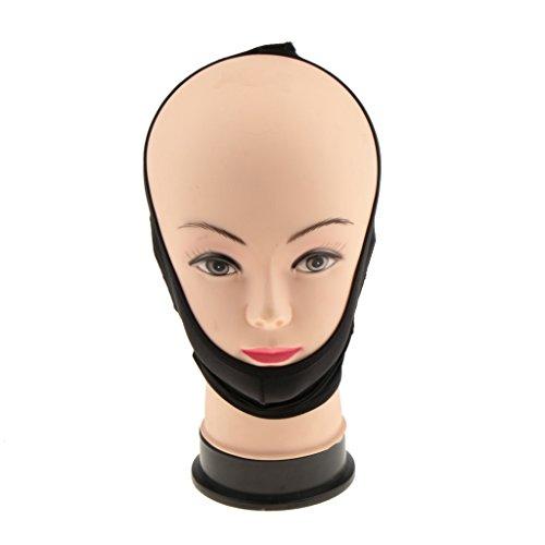 MagiDeal Cinturón Máscara Adelgazamiento Cara V