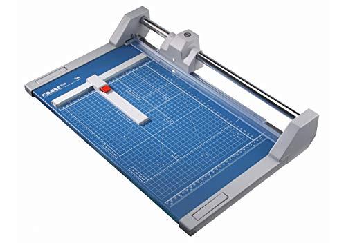 Dahle 550 Roll- und Schnitt-Schneidemaschine (Papierschneidemaschine mit einer Schnittlänge von 360 mm, bis zu DIN A4)