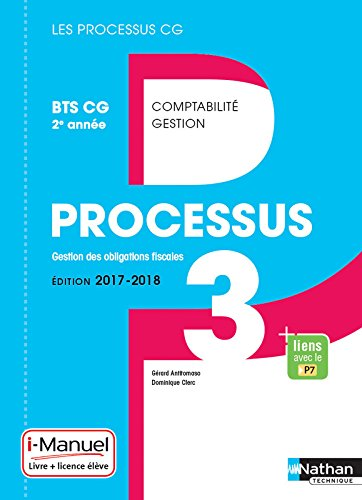 Processus 3 - BTS CG 2e année