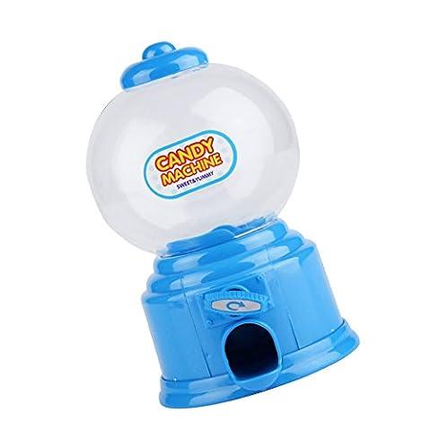 Mini-Machine à Bonbons de Pièce Tirelire Cadeau Pot de Stockage