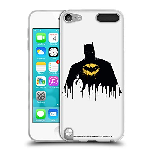 Head Case Designs Offizielle Batman DC Comics Alter Ego Stadtbild 2 Dualitaet Soft Gel Huelle kompatibel mit Apple iPod Touch 5G 5th Gen