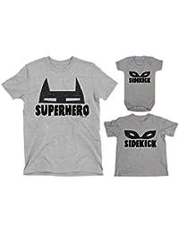 71db772d3 Buzz Shirts Family Matching Set - Superhero Sidekick Mask