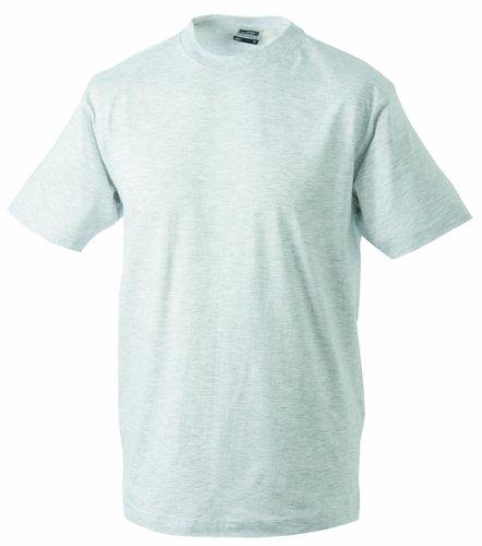 James & Nicholson Herren Komfort T-Shirt Rundhals Beige (ash)