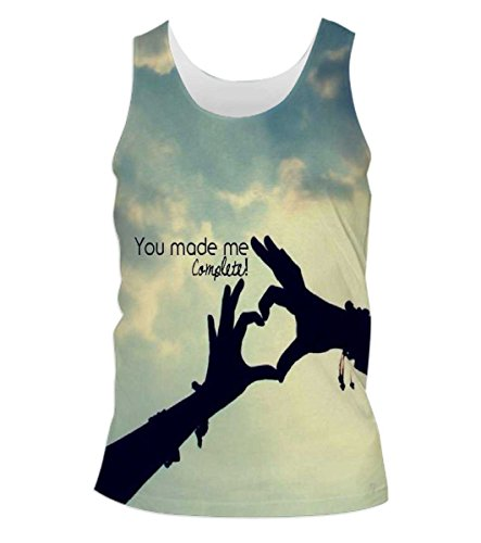 Snoogg-You-Made-Me-Complete-Mens-Casual-Beach-Fitness-Vests-Tank-Tops-Sleeveless-T-shirts