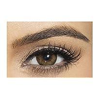 Bella Diamond Collection Unisex Cosmetic Contact Lenses - Allure Blonde - [ BL-AL-BL Power 0.00]