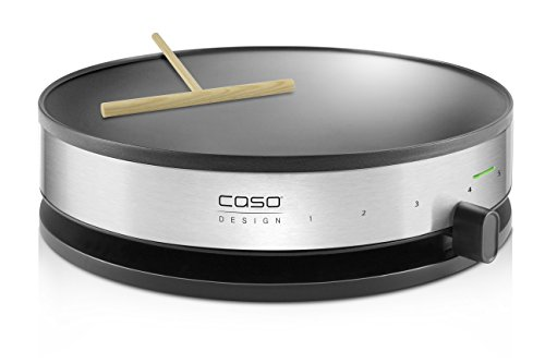 Caso 2930 cm 1300 Design crepes Maker con ampia superficie di cottura, diametro 33 cm, 1300 W