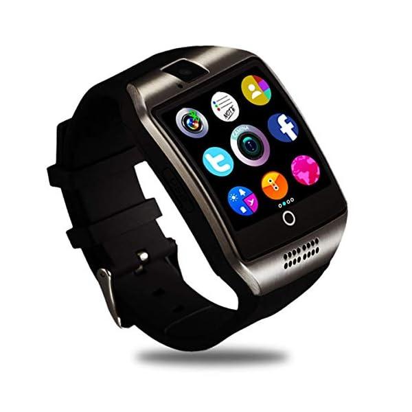 Smartwatch, Impermeable Reloj Inteligente Redondo con Sim Tarjeta Camara Whatsapp, Bluetooth Tactil Telefono Smart Watch… 2
