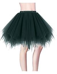 Dresstells Damen Tutu Unterkleid Kurz Ballett Tanzkleid Ballklei Abendkleid Gelegenheit Zubehör