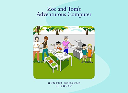 Zoe and Tom's Adventurous Computer (English Edition)