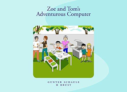 Zoe and Tom's Adventurous Computer (English Edition)