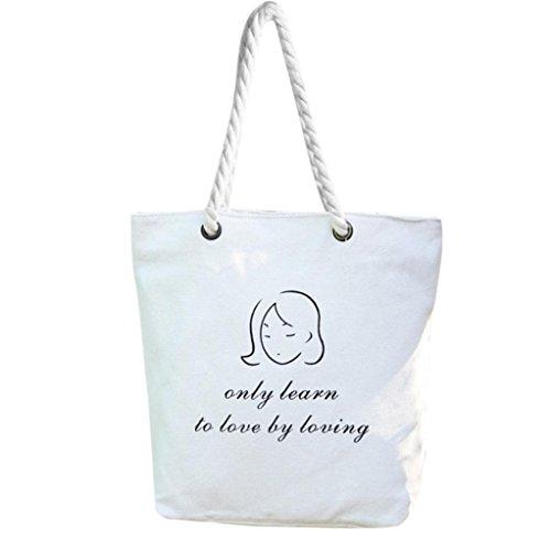 Tela spalla borse, donna mori stile mano borse spalla dipinta capacità donne Canvas borse di Kangrunmy F