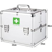 Medizinschränke Medizin-Box Haushalt Notfall Doppel offene Medizin Brust Aluminium-Legierung Drei Schichten Sicherheitsschloss... preisvergleich bei billige-tabletten.eu