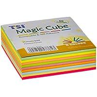 TSI 47761–Notas autoadhesivas Magic Cube, 225hojas, 75x 75mm
