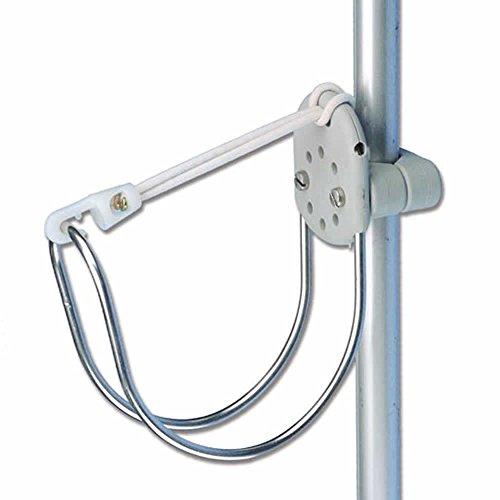 Halterung für Rettungsring / Hufeisenrettungsring für Rohre von 22 - 25 mm geeignet
