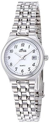 Lotus-Reloj de pulsera analógico para mujer cuarzo acero inoxidable 15032/1