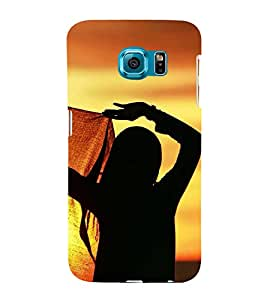 ifasho Designer Back Case Cover for Samsung Galaxy S6 Edge :: Samsung Galaxy S6 Edge G925 :: Samsung Galaxy S6 Edge G925I G9250 G925A G925F G925Fq G925K G925L G925S G925T (Girl Chongqing China Girl Year Old)