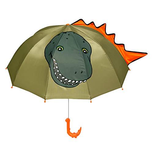 Kidorable - Paraguas dinosaurio niños tamaño único