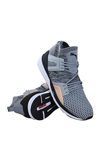 Puma-Mens-B-O-G-Limitless-Hi-Evoknit-Grey-White-Shoes