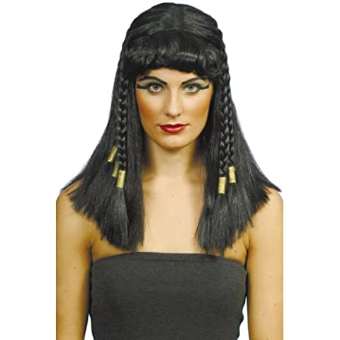 Smiffy's - Peluca de Cleopatra para mujer