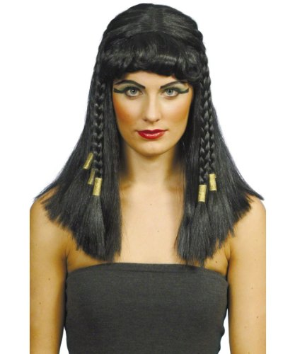 Legenden Party Kostüm Mythen Und - Smiffys SMIFFY 'S Kleopatra Perücke