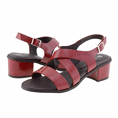 sandali in pelle Misure: 40 Colore: ROSSO
