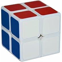2x2x2 Puzzle Cubo, LSMY Aurora Toy Blanco