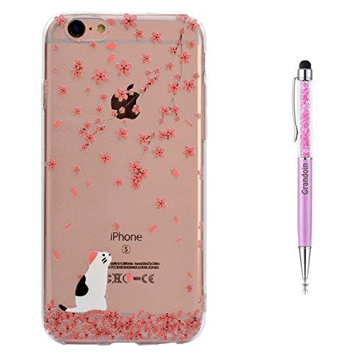 """Grandoin iPhone 6S Hülle,iPhone 6 HandyHülle, Süßes Muster Weiche TPU Silikon Schutz Handy Handytasche Etui Schale Schutzhülle für Apple iPhone 6S/iPhone 6 4.7"""" - Nicht Anfassen"""
